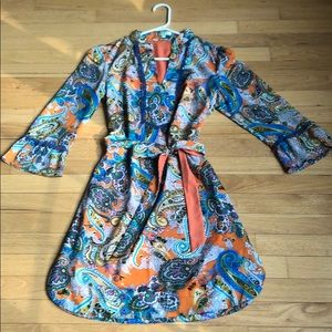 Jade Paisley Dress or Tunic